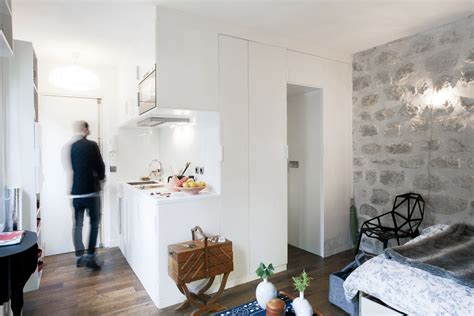 215 square feet cozy 215 square foot studio flat in paris idesignarch