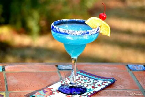 blue margarita blue curacao margarita recipe a tropical cocktail miss