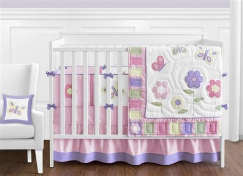 purple butterfly crib bedding pink and purple butterfly baby bedding 9pc crib set only