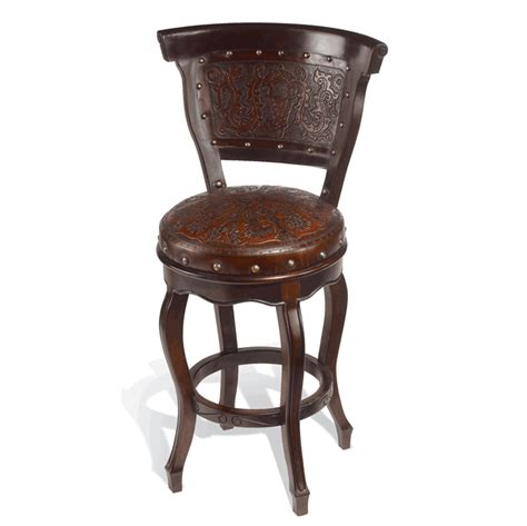 Western Swivel Bar Stools by Western Furniture Set Of 2 Heritage Swivel