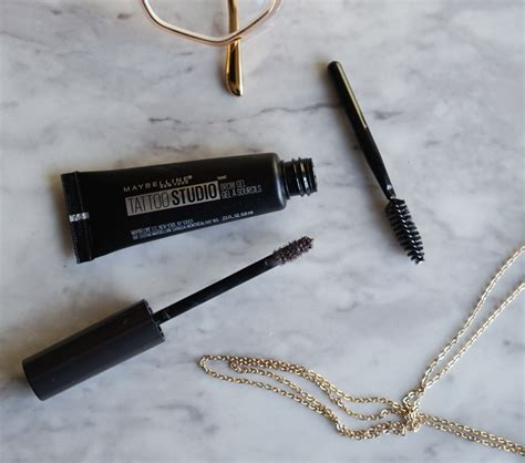 tattoo brow maybelline review boots maybelline tattoo studio brow gel review demo