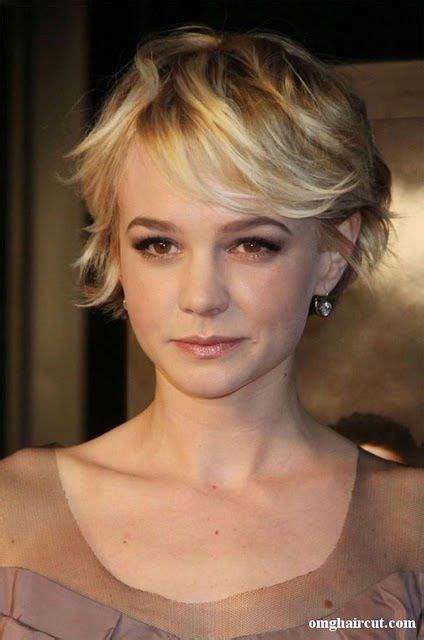 short hairstyle blonde in front black in back 13 best images about carey mulligan on pinterest short