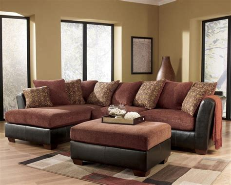 ideas ashley furniture brown corduroy sectional sofas sofa ideas