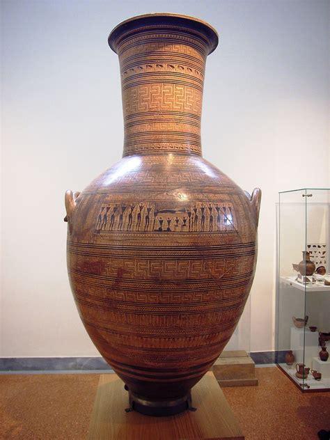 il vaso vaso dipylon