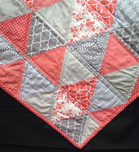 Coral Colored Quilts by 25 Best Ideas About Coral Chevron Bedding On