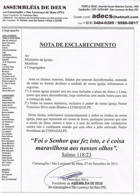 carta de transferencia entre igrejas batistas alarme falso n 227 o haver 225 divis 227 o entre os cos ligado a ad abreu e lima pe fique atento