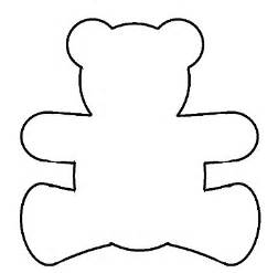 Printable Teddy Template by Teddy Templates Clipart Best