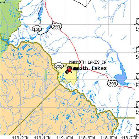 california map mammoth lakes mammoth lakes california ca population data races