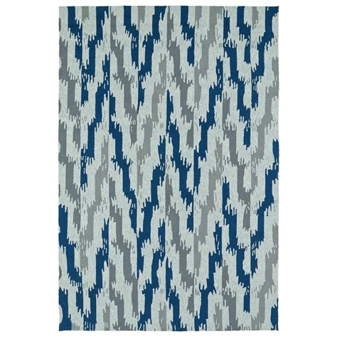10 x 14 outdoor area rugs kaleen habitat blue 10 ft x 14 ft indoor outdoor area rug 2110 17 1014 the home depot