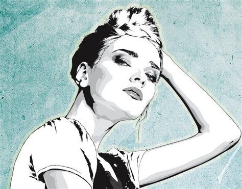 tutorial vector portrait amazing vector portrait illustrator tutorial psddude
