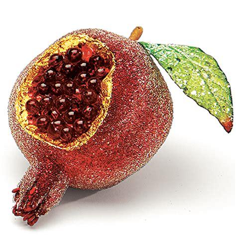burgundy ornaments burgundy pomegranate ornament