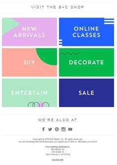 Layout Footer Newsletter | 1000 ideas about email footer on pinterest email