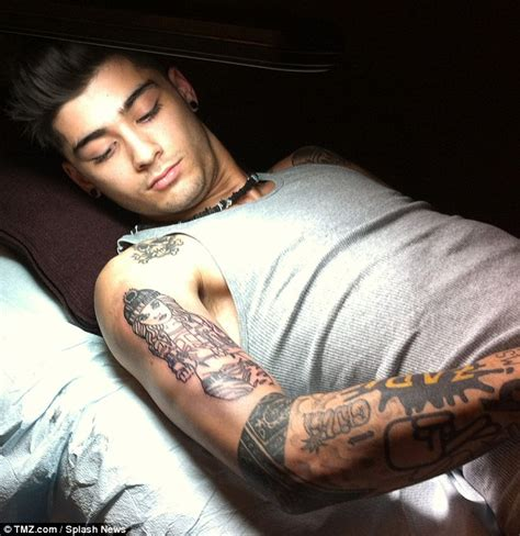 zayn malik permanently cements his love for perrie edwards