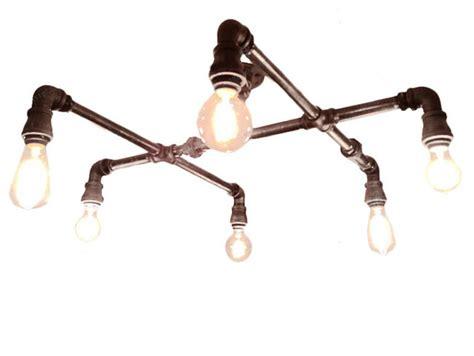 loft rh water pipe 4 lights ceiling lighting industrial
