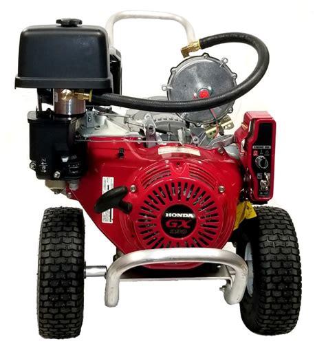 sgaa  watt dual fuel portable generator  honda engine smart generators