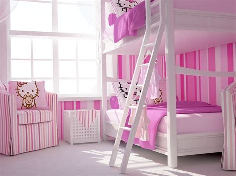 minimalist  kitty bedroom  girls  ideas