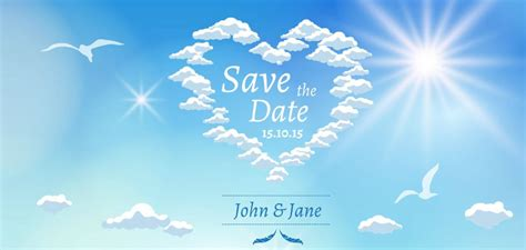 Save The Date Presentation Template Sharetemplates Save The Date Anniversary Templates