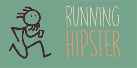 dafont hipster dk running hipster font dafont com
