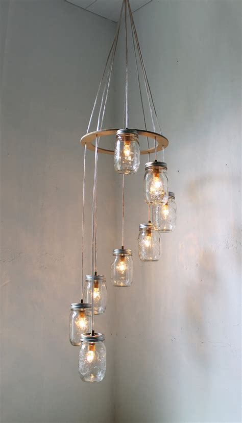Swag Light Fixture Something Southernelle Spiral Carousel Jar Chandelier Jar Lighting Swag L