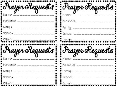 prayer request card template your is praying for you in the journey