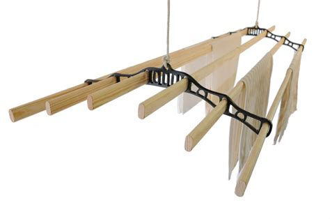 Overhead Laundry Drying Rack by Indoor Clothesline Clothesline Knowledge Base