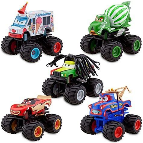 disney monster truck videos disney pixar cars exclusive monster truck mater plastic