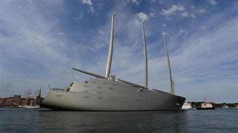 sailing yacht a boat international sailing yacht a specification and facts
