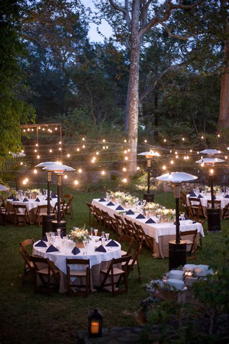elegant montecito estate wedding romantic backyard