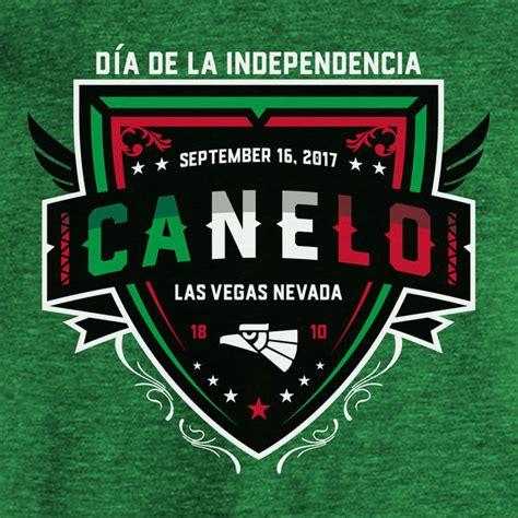 Kaos Canelo Alvarez With Flag Boxing canelo alvarez shield shirt for canelo vs ggg