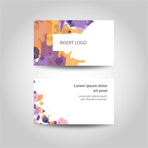 Business Cards For Artists Designers
