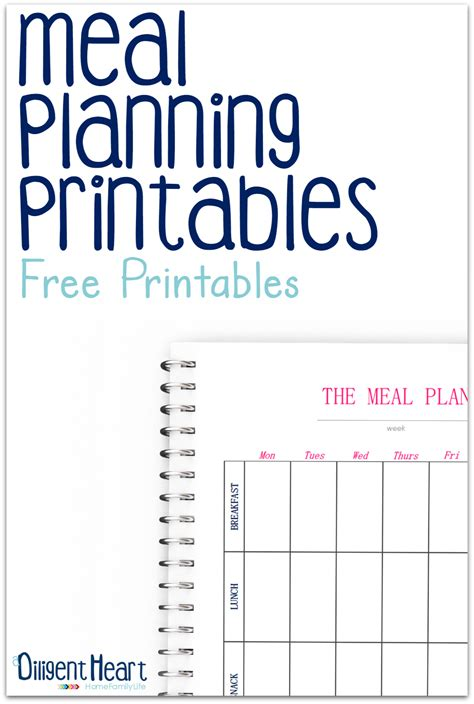 time planner for iphone helps you plan your day and meal planning printables
