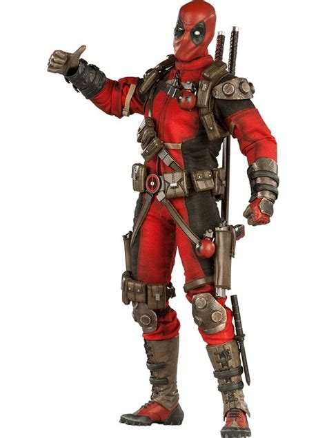marvel comics deadpool 12 inch figure prop replicas and stuff marvel