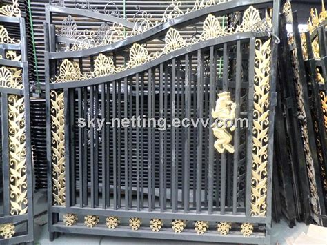 Main Door Designs For Indian Homes by Beautiful Residential Wrought Iron Gate Designs Models