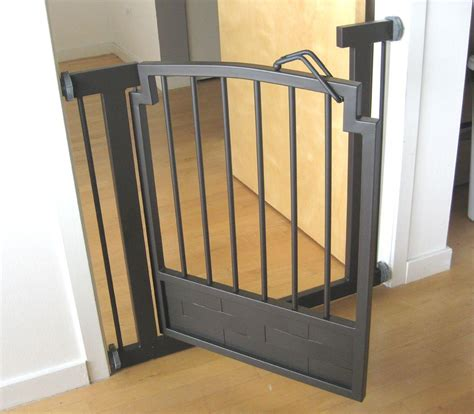 puppy gates indoor gate safety pet fence metal 32 quot h hallway or doorway pressure mount ebay