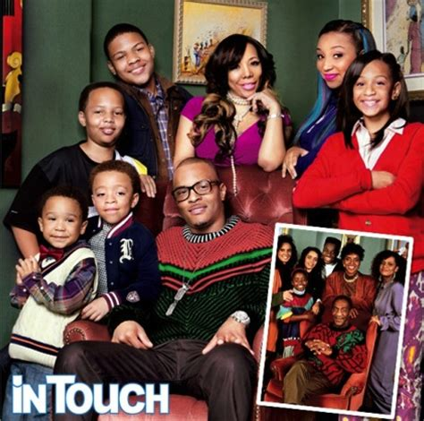 t.i. and tiny 'family hustle' a modern day 'cosby show