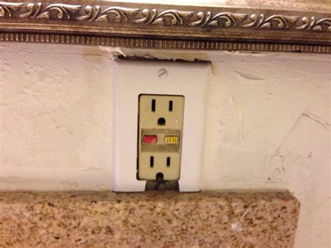 bathroom outlet puerto rico outlet over the bathroom sink