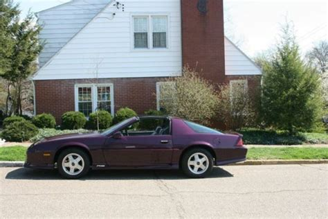 1992 camaro rs 25th anniversary for sale chevrolet camaro t tops 1992 purple for sale