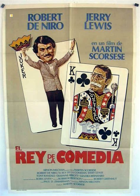 film comedy geoff king pdf quot el rey de la comedia quot movie poster quot the king of comedy