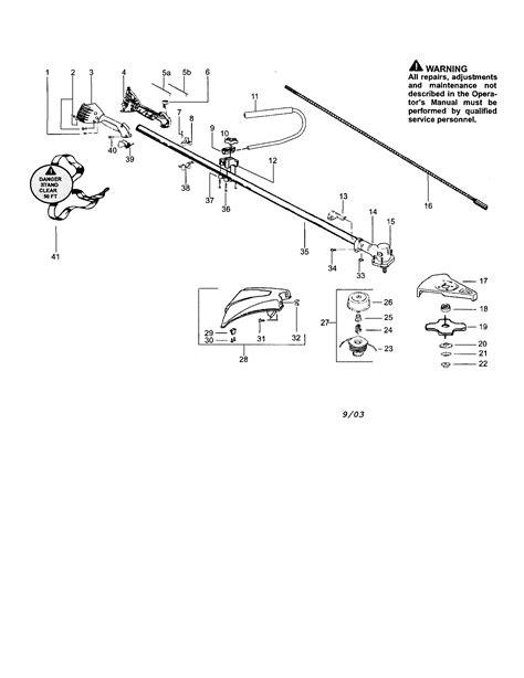 wacker fuel line diagram poulan snapper line trimmer weedwacker parts model s31bc