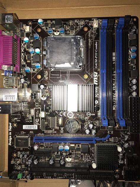 Lu Projie Xeon Msi G41m P33 Combo Bios Xeon Microcode Lu