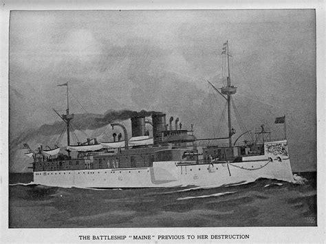 sinking of the uss maine battleship uss maine encyclopedia