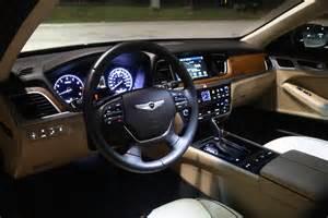 Genesis Hyundai Interior Hyundai Genesis Interior Specification Design Automobile