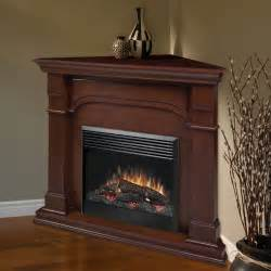 corner fireplace electric dimplex oxford cherry corner electric fireplace at hayneedle