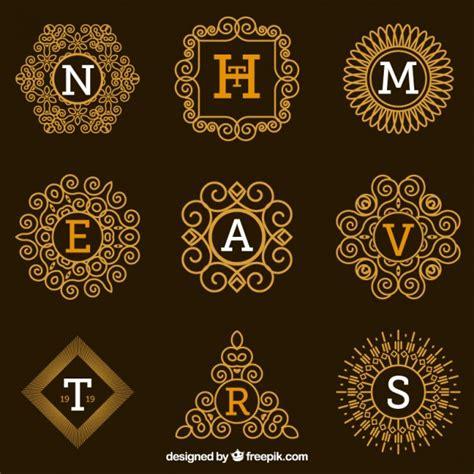 L 4286 C Nel Logo Premium collezione loghi ornamentale con lettere scaricare
