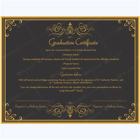 formal award certificate template 89 award certificates for business and school events