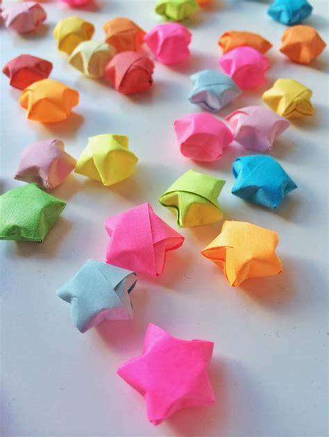 Make Lucky Paper - origami lucky crafts