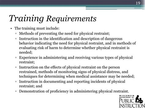 ppt 2011 wisconsin act 125 seclusion and physical restraint powerpoint presentation id 1378579