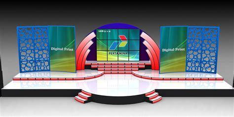 layout panggung contoh design panggung 3d mgmproduction event