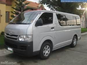 Hiace Toyota Philippines Toyota Hiace For Sale Philippines Html Autos Weblog