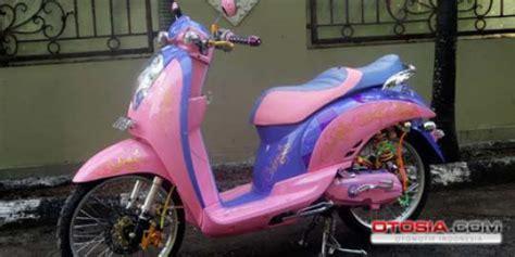Scoopy 2013 Raharja Motor Makassar scoopy curi perhatian dengan warna feminis merdeka